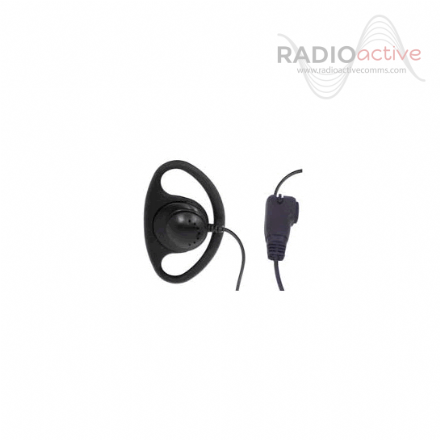 Kenwood D Shaped Earpiece with Inline Microphone (All analogue models)